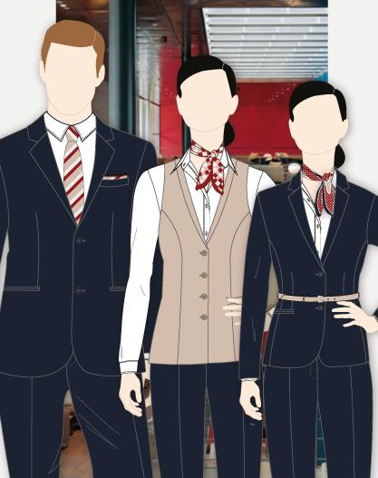Roche Front Desk Uniform